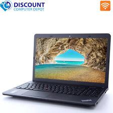 """Lenovo Laptop E540 15.6"""" HD Core i5 8GB 256GB SSD Webcam Wifi Win 10 Pro Grade B"""