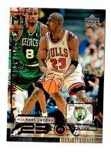 1998 Michael Jordan Upper deck vs Celtics #137