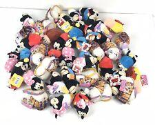 "Huge Lot Of 41 Mixed NWT Disney Flipazoo Princess Mickey Minnie Goofy 5"" Plush"