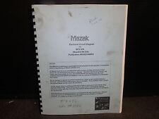 Mazak Electrical Circuit Diagram Manual_M-Tv-414_Mazatrol M-32B_Dd521006001