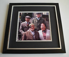 Peter Sallis SIGNED Framed LARGE Square Photo Autograph display TV AFTAL & COA