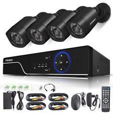 Camara De Seguridad Para Casas Profesionales 8 CH DVR Weatherproof Night Vision