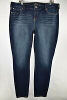 Torrid Premium Skinny Jeans Womens Size 20XT Blue Meas. 38x33.5