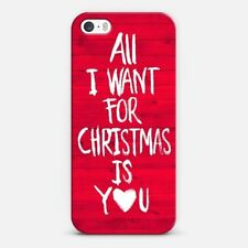 "Cylo Pop iPhone 6/6s Case Red Holiday ""All I Want for Christmas Is You"""