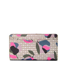 New Fossil Caroline RFID Bifold Wallet in FLORAL MULTI/WHITE RRP$119