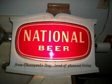 National Beer Advertising light