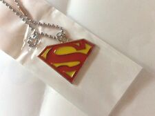 SUPERMAN Collana LOGO IN METALLO Necklace DC