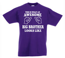 Genial Grandes Brother Camiseta 3-13yrs Regalo Boys Cumpleaños Divertido