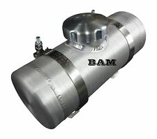 3x10 Center Fill Spun Aluminum Gas Tank - .31 Gallon - Kart Racing - Mini Bike
