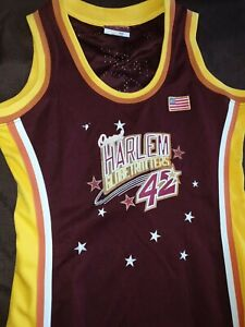 Women's Platinum FUBU Harlem Globetrotters Dress, Long, Size Large: Twiggy