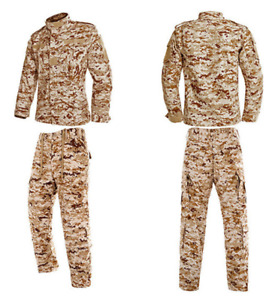 Men's BDU Set, Jacket & Pants, Tactical, Military, SWAT, Security, Hunting, Outd