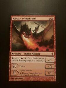 Kargan Dragonlord Rise of The Eldrazi LP* ENGLISH Red Power Up Commander pl