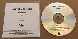 Janet Jackson - Feedback UK Promo Cd Single 2008 Rare! Def Jam Michael