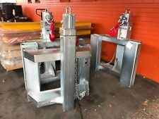 Jib Forklift Crane  Attachment 7.5 Ton Galvanized Extends to 2.03 Mtrs Syd Stock
