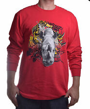 Ecko Unltd. Men's Rhino Mish Mash Long Sleeve T Shirt Choose Size & Color