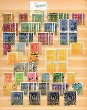 Briefmarkensammlung Österreich 1922 1924 Republik Paare stamps ansehen