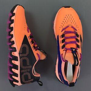 Adidas Vigor 5 TR Trail Runner Flash Orange Black Womens Athletic Shoes Size 9