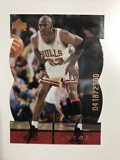 1998 99 Upper Deck MJX Michael Jordan MJ Timepieces #76   #'d of 2300 Bulls HOF