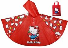 Joblot 14X Hello Kitty Girls Rain Coat Waterproof Rain Winter Kids Wholesale NEW