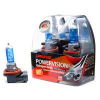4 X H16 Xenon 6000K Lampada Auto PGJ19-3 Alogena Pere 19W 12V