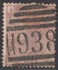 "GB QV 2.1/2d Rosy Mauve SG141 Plate 11 ""KI"" Used 1878 Stamp"