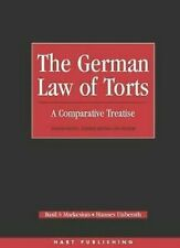 German Law of Torts : Comparative Treatise