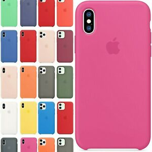 Cover Custodia Originale Apple Per Iphone 6 7 8 Plus X XS MAX XR 11 12 PRO Mini