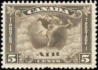 1930 Canada Mint H F+ Scott #C2 Air Mail Issue Stamp