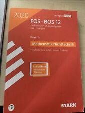 Fos/Bos Stark Mathematik Nichttechnik 2020
