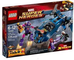 76022 X-MEN VS THE SENTINEL lego legos set magneto storm cyclops super heroes