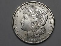 AU+/Unc 1921 Silver US Morgan Dollar.  #19