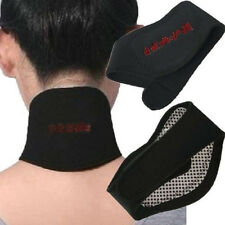 Tourmaline Self Heating Magnetic Therapy Neck Wrap Pains Relief Neck Massager US