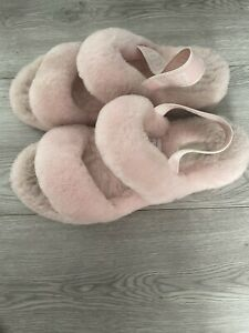 Ugg Oh Yeah Slippers Pink Size 7