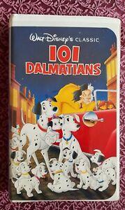 DISNEY 101 Dalmatians VHS Black Diamond Classic RARE #1263 SPRING LEAD 1992