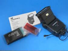 Hanimex TZ1 Camera Electronic Zoom Flash w/Filters & Instruction Manual