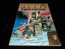 Berck & Cauvin : Sammy 5 : Le gorille à huit pattes Dupuis souple 11/1979