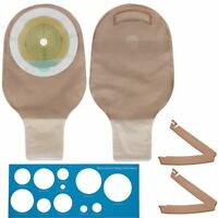 Colostomy Ileostomy Stoma Care Ostomy Bag One Piece Drainable Pouch Supply