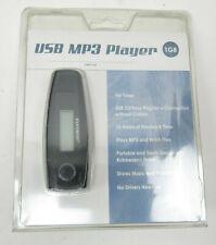Element Usb Mp3 Player New Sealed 1Gb Memory Emp31Gb, Black w/ Headphones Bundle