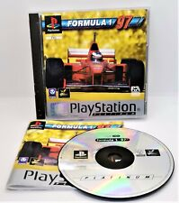 New listing Formula 1 97 Video Game for Sony PlayStation PS1 PAL TESTED
