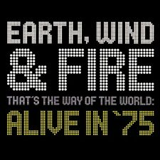 EARTH WIND AND FIRE - THATS THE WAY OF THE WORLD ALIVE IN 75 *****EXCELLENT*****