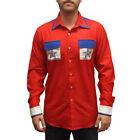 Roy Munson Bowling Shirt Kingpin Movie King Pin Costume Woody Harrelson