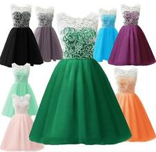 Kinder Mädchen Sommerkleid Abendkleid Kommunionkleid Spitzenkleid Cocktailkleid