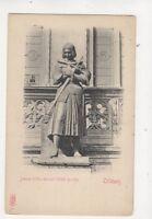 Orleans Jeanne d'Arc Avant l'Hotel de Ville France Vintage U/B Postcard 548b