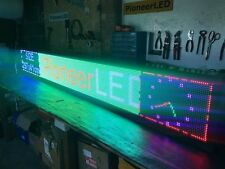 300x40cm  WIFI LED Scrolling Sign Digital Programmable Moving Message Display