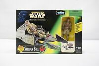 Star Wars Power of The Force II Speeder Bike Expanded universe 1997 New TY