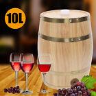 5/10L Pine Wooden Wine Barrel Whiskey Rum Wine Barrel Spirits Storage Wine Keg