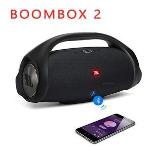 Boombox 2 Portable Bluetooth Wireless Subwoofer Outdoor waterproof Speaker Ipx7