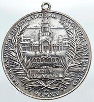 1915 USA San Francisco Panama Pacific WORLD EXPO Old Vintage Award Medal i90726