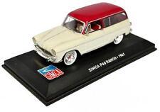 Voiture modèle réduit collection 1/43ème Simca P60 Ranch 1961