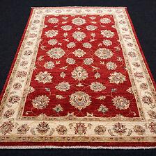 Orient Teppich Ziegler 172 x 120 cm Rot Floral Handgeknüpft Carpet Rug Tappeto